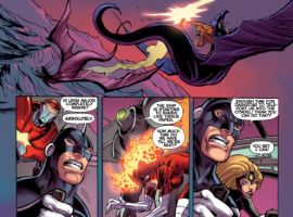 DARKSTAR AND THE WINTER GUARD #3 preview art by Steve Ellis