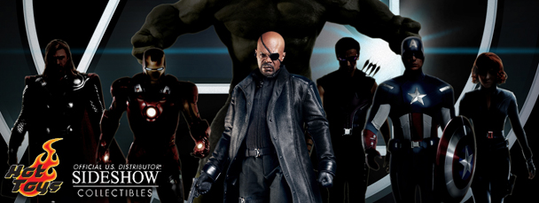Nick Fury Sixth Scale Figure (by Hot Toys)