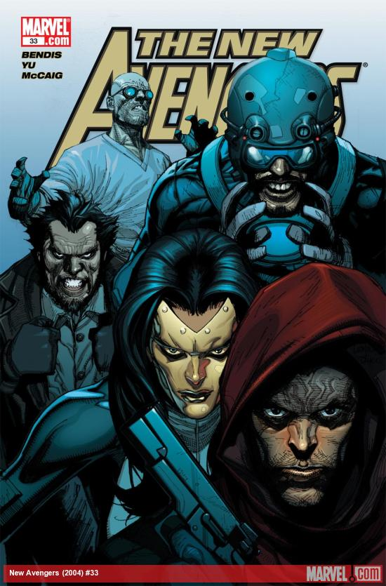 New Avengers (2004) #33