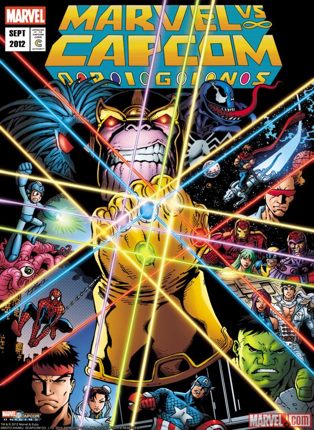 The Infinity Gauntlet 1 Cover