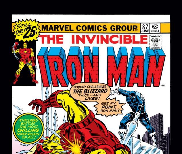 Iron Man (1968) #87 Cover
