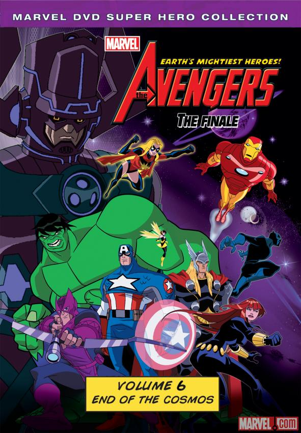 The Avengers: Earth's Mightiest Heroes! Volume 6 DVD box art