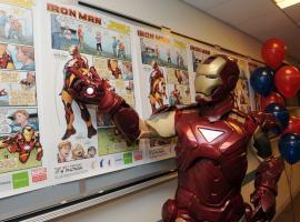 Marvel/Phonak event (photo by Diane Bondareff)