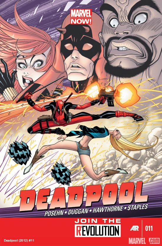 DEADPOOL 11 (NOW)