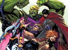 New Avengers by Gerardo Sandoval