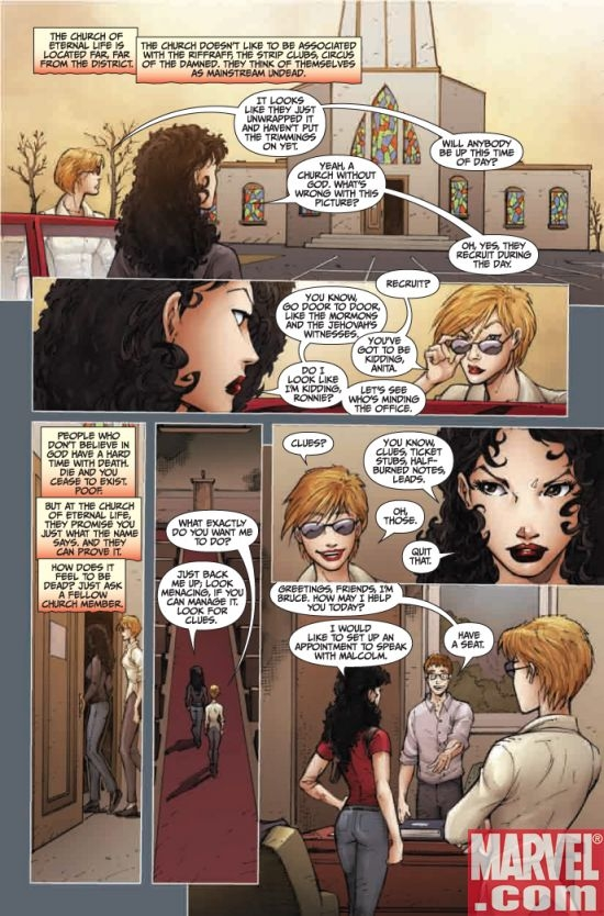 ANITA BLAKE, VAMPIRE HUNTER: GUILTY PLEASURES #9, page 2