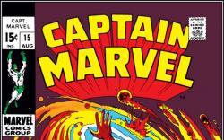 CAPTAIN MARVEL #15 COVER