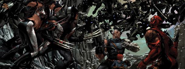 Untitled Image  X Force Deadpool Wallpaper