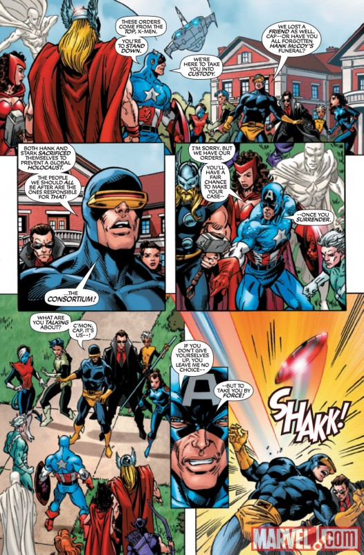 X-MEN FOREVER 2 #1 preview art by Tom Grummett
