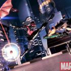 Screenshot of Spider-Man 2099 and Hobgoblin 2099 from Spider-Man: Shattered Dimensions