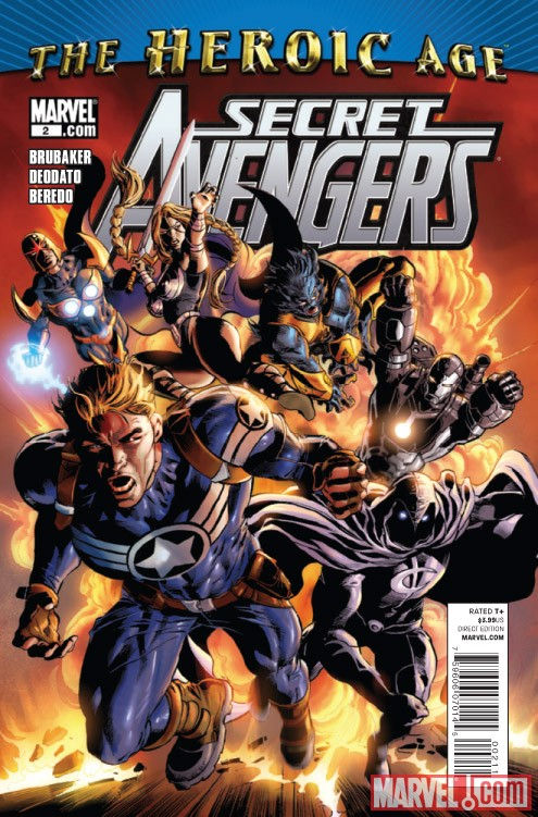 SECRET AVENGERS #2 cover by Mike Deodato Jr.