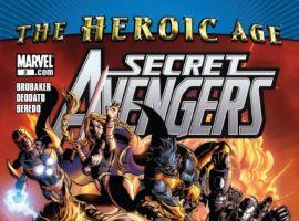 SECRET AVENGERS #2 cover by Mike Deodato Jr.