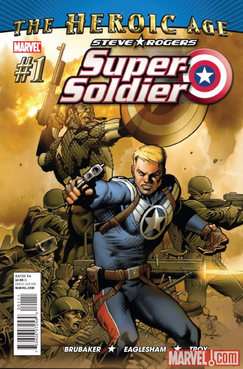 STEVE ROGERS: SUPER-SOLDIER #1 cover by Carlos Pacheco
