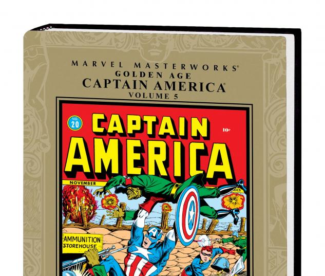 MARVEL MASTERWORKS: GOLDEN AGE CAPTAIN AMERICA VOL. 5 HC