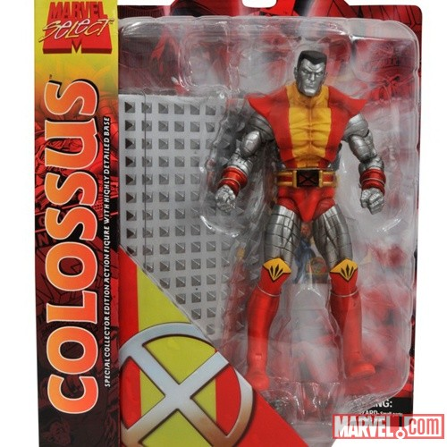 On Sale Now: Marvel Select Colossus