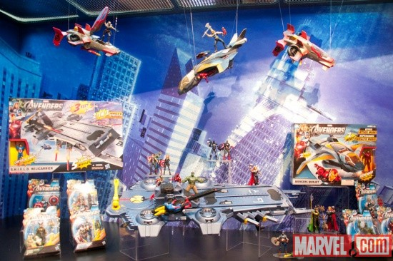 Hasbro Avengers Playsets