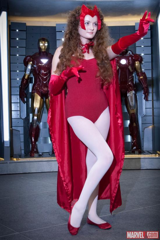 SDCC 2012: Scarlet Witch Cosplayer at Marvel Costume Contest Sponsored by ®KÀ™ by Cirque du Soleil®