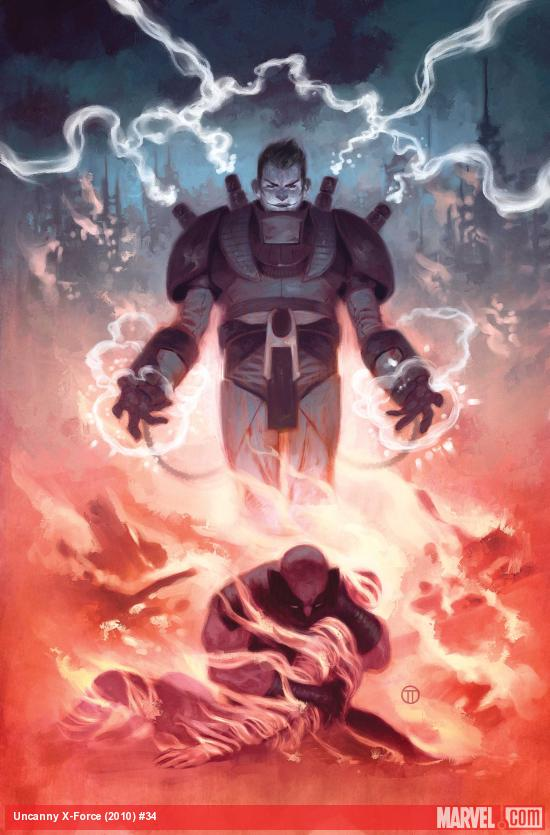 Uncanny X-Force #34 Cover