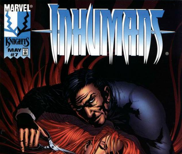 Inhumans (1998) #7 Cover