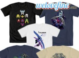 WeLoveFine debuts all-new Marvel t-shirts