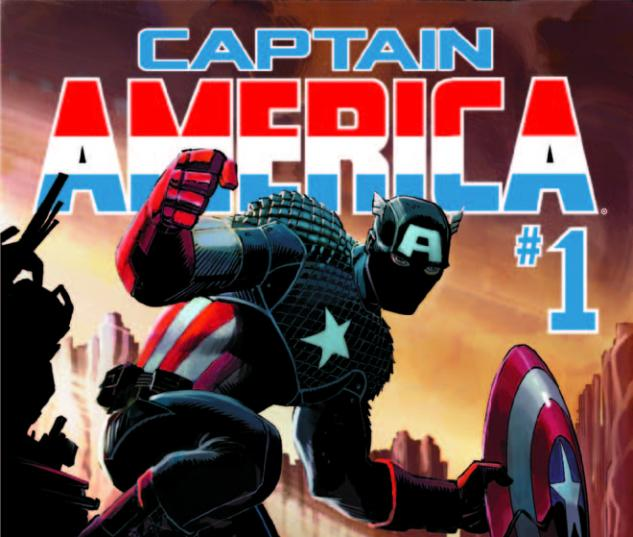 Captain America (2012) 1 2nd Printing