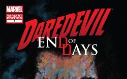 Cover: Daredevil End of Days (2012) #5 (Mack Variant)