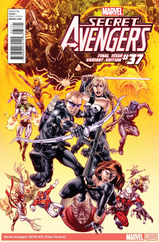 cover from Secret Avengers (2010) #37 (JASON KEITH VARIANT)