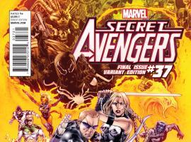 cover from Secret Avengers (2010) #37 (JASON KEITH VARIANT)