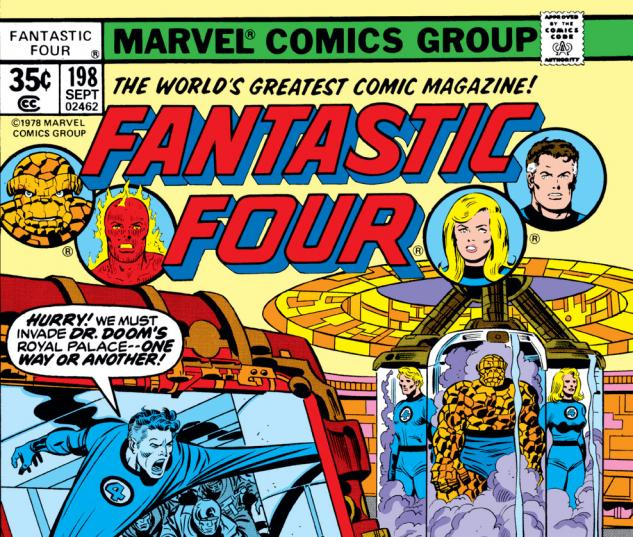 Fantastic Four (1961) #198 Cover