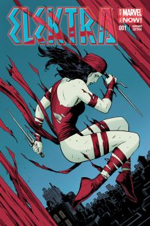 Elektra (2014) #1 (Rivera Variant)