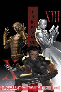 Dark Reign: The List - Wolverine (2009) #1 (2ND PRINTING VARIANT)