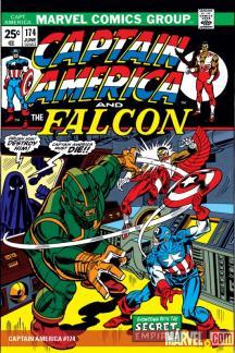 Captain America #174