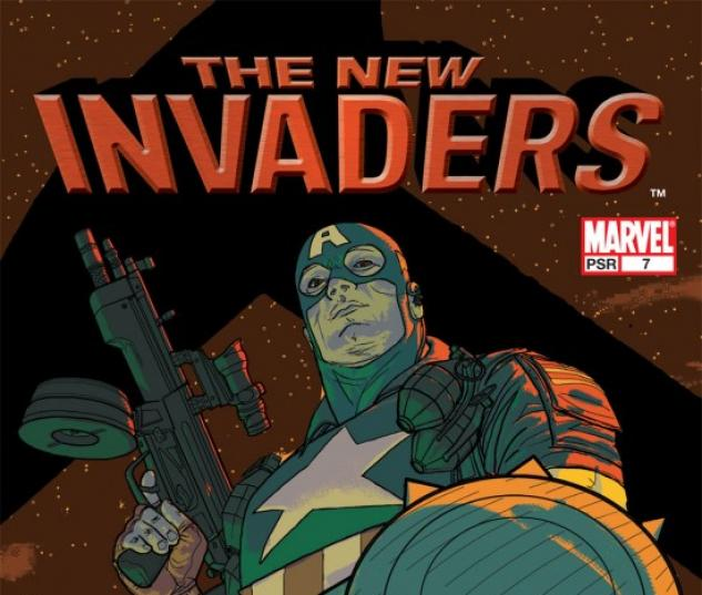 NEW INVADERS (2006) #7 COVER