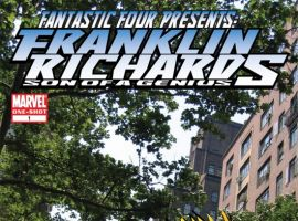 FRANKLIN RICHARDS: SON OF A GENIUS IN <I>TONS OF FUN</I> COVER