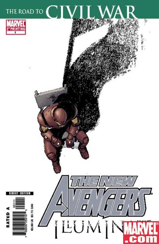 New Avengers: Illuminati Special 2nd printing