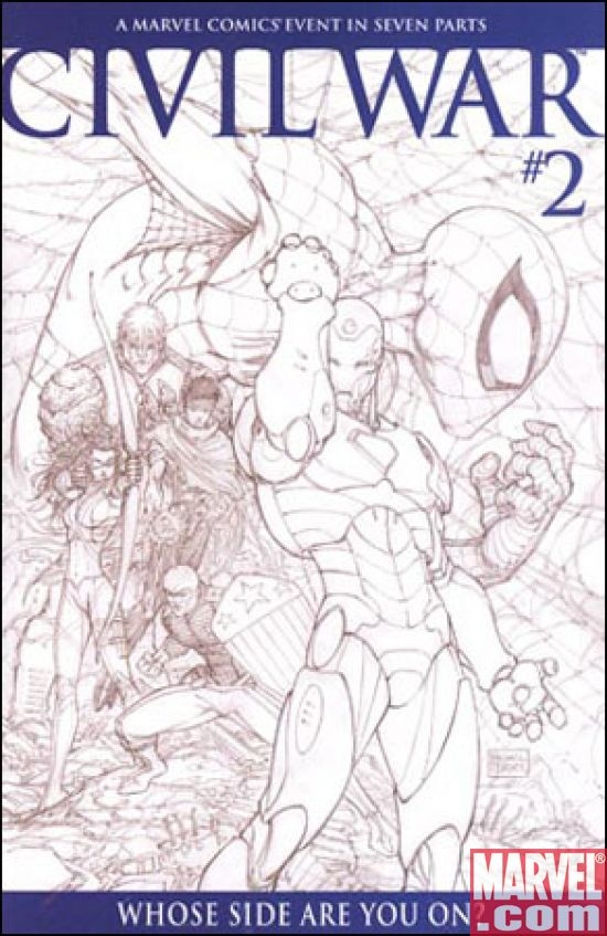 Civil War #2 (Turner sketch var.)
