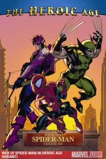 Web of Spider-Man #8  (HEROIC AGE VARIANT)