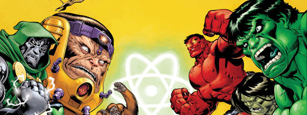 Image Featuring Doctor Doom, Hulk, M.O.D.O.K.
