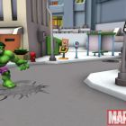 Screenshot of Hulk from Super Hero Squad Online