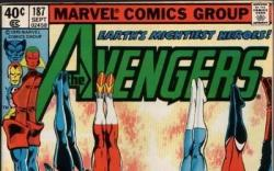 Image Featuring Avengers, Captain America, Falcon, Quicksilver, Scarlet Witch, Wasp, Wonder Man