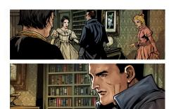 Ruse #1 preview art by Mirco Pierfederici