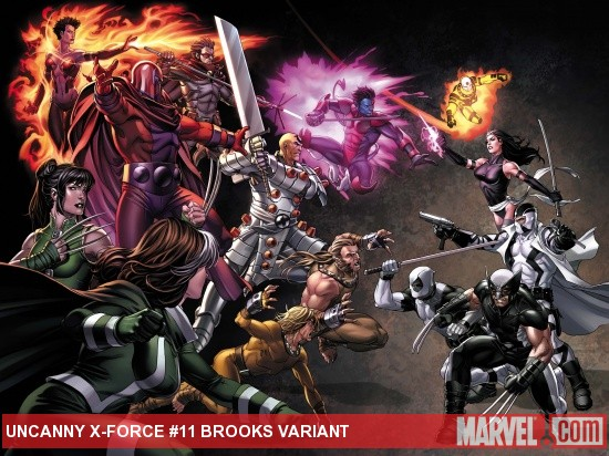 Uncanny X-Force (2010) #11, Brooks Variant
