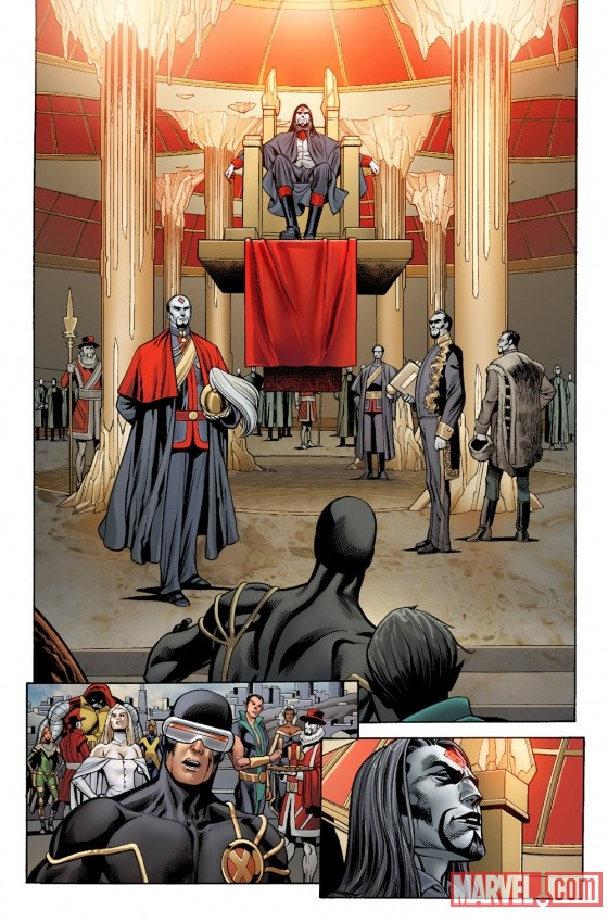 Uncanny X-Men #2 Preview Art by Carlos Pacheco