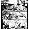 Avengers Assemble #1 inked preview art by Mark Bagley