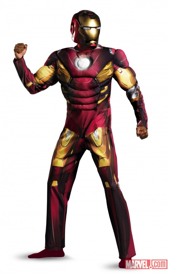Iron Man Mark 7 Avengers Classic Muscle Adult