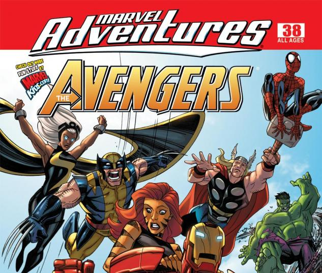 Marvel Adventures the Avengers (2006) #38