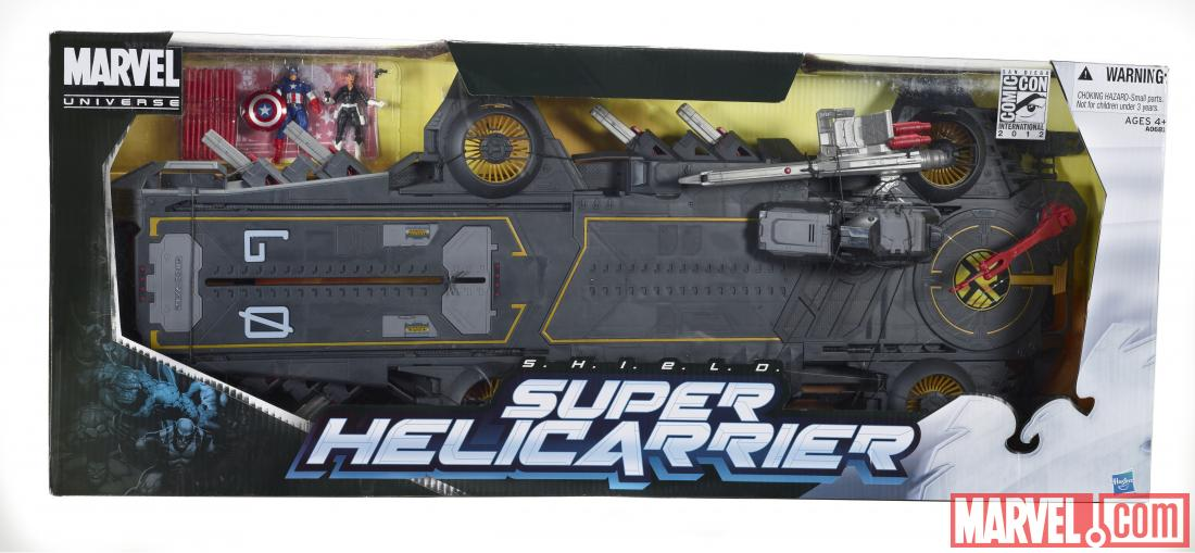 Marvel Universe S.H.I.E.L.D. Super Helicarrier box
