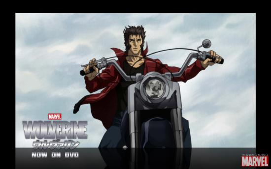 Wolverine Anime Series Wallpaper #3