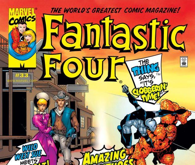 Fantastic Four (1998) #33 Cover