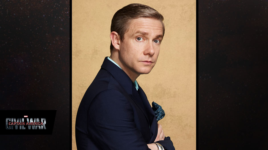 Neu-Marvellianer Martin Freeman - via marvel.com